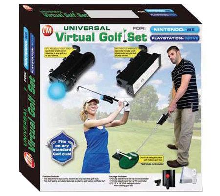 Cta Ps Move Wii Virtual Golf Set Ps3
