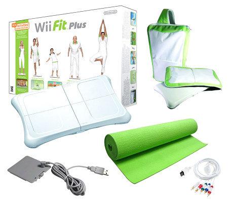 Nintendo Wii Fit Plus HD Bundle With Balance Board — QVC.com