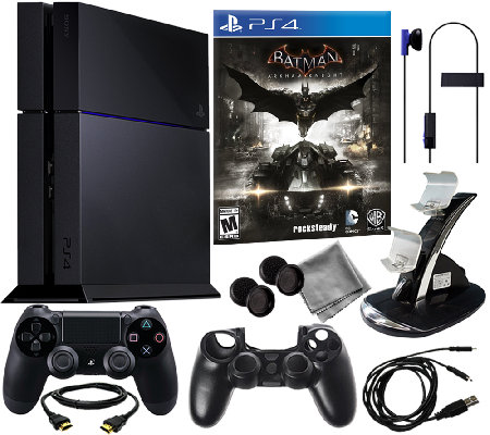 Sony PS4 500GB System w/ Batman: Arkham Knight& Accessories