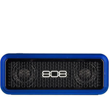 808 XS Wireless Bluetooth Speaker with Auxiliary Input