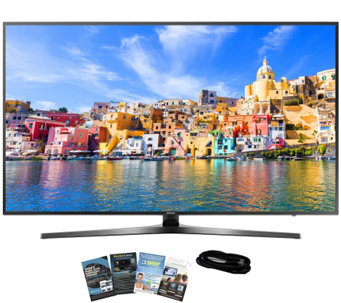 "Samsung 40"" Smart LED Ultra HDTV with App Packand HDMI Cable - E289243"