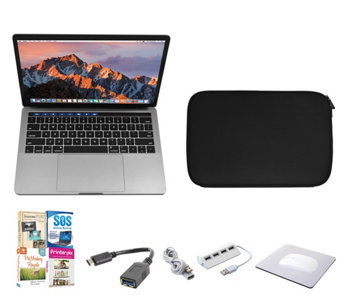 "Apple Macbook Pro 13"" 512GB with Touch Bar withSoftware, - E290443"
