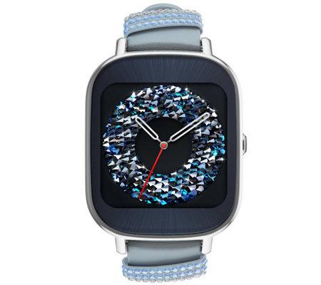 ASUS ZenWatch 2 Wi-Fi Smartwatch with SwarovskiCrystals ...