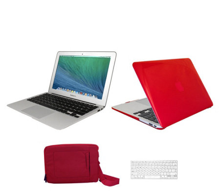 "Apple Macbook Air 13"" with Clip Case,Carry Bag and Printer Pix Vouchers"
