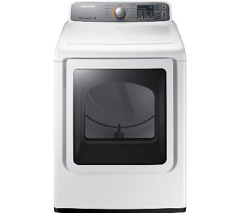 Samsung 7.4 Cubic Foot Electric Dryer with Steam Technology - E277944