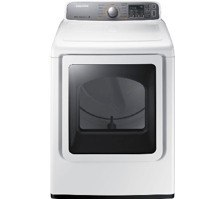 Samsung 7.4 Cubic Foot Electric Dryer with Steam Technology