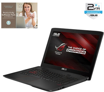 "ASUS 15"" ROG Gaming Laptop - Core i7, 16GB, 1TBHDD & Software - E285644"