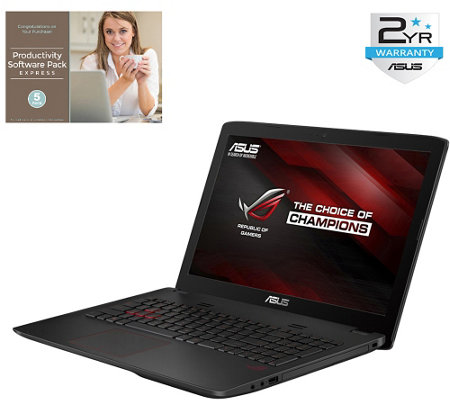 "ASUS 15"" ROG Gaming Laptop - Core i7, 16GB, 1TBHDD & Software"