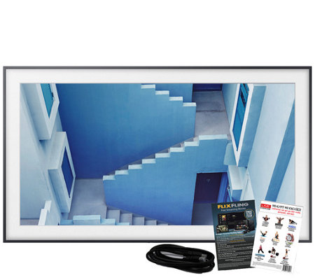 "Samsung The Frame 55"" Class Smart 4K Ultra HDTV& HDMI Cable"