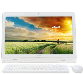 "Acer 20"" All-in-One PC Intel Quad Core 4GB RAM 500GB Lifetime Tech - E229745"