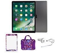 "iPad Pro 9.7"" Bundle w/ Sleeve, Car Charger, Stylus , and more - E231245"