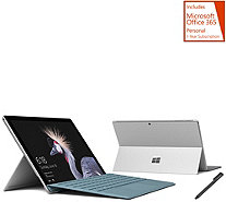 Microsoft Surface Pro Intel 128GB SSD w/ Office, Pen, & Keyboard - E231745