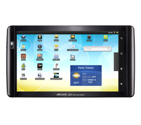 "Archos 10"" Diagonal 8GB 1.0GHz Tablet with Android 3.2 OS"
