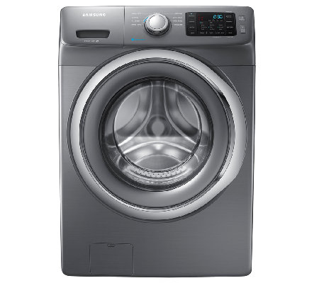Samsung 4.2 Cu Ft Front-Load Washer w/ Steam- Platinum