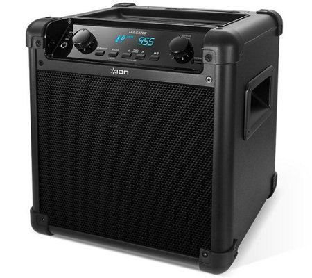 ION Tailgater Wireless Bluetooth Speaker Systemwith Mic