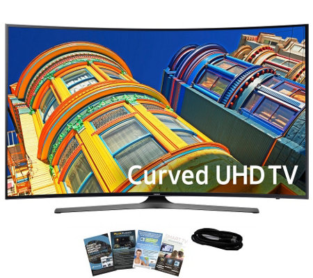 "Samsung 49"" LED Curved Smart Ultra HDTV with App Pack and HDM"