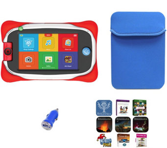 "nabi Jr 5"" Kids Android Tablet Bumper Case & App Package - E229846"