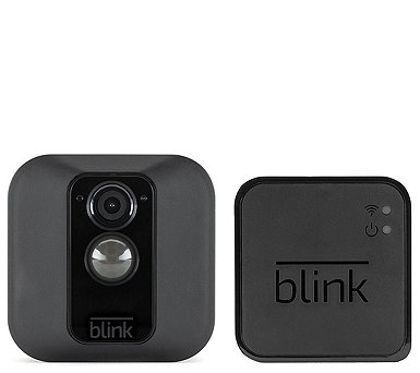 Blink XT Weatherproof Wire-Free WiFi Security Camera w/ Night Vision - E231046