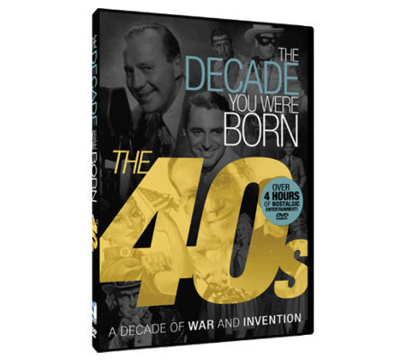 The Decade You Were Born - 1940s DVD