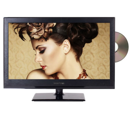 "Sceptre 24"" Class 60Hz LED 1080p HDTV with Built-In DVD Playe"