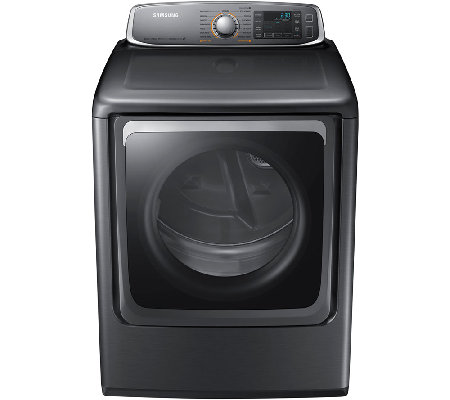 Samsung 9.5 Cubic Foot Electric Dryer with Steam Technology