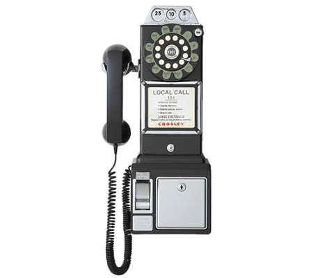 Crosley 1950s 3-Slot Style Pay Phone