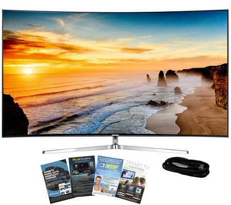 "Samsung 65"" Class LED 4K SUHD Smart TV with HDMI and App Pack"