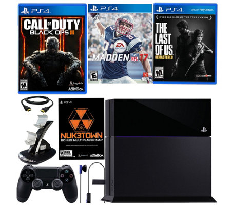 Sony PS4 500GB Black Ops III Bundle with Madden NFL 17