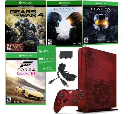 Xbox One S 2TB LE Gears of War 4 Console Bundle