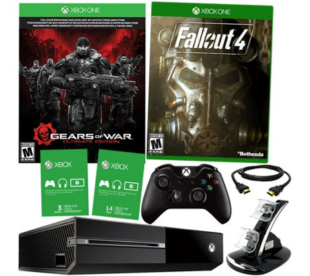 Xbox One 500GB Gears Bundle with Fallout 4, 3-Month Xbox Live