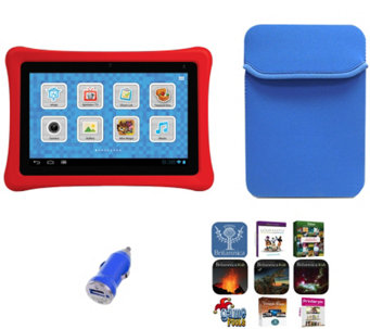 "nabi 2S 7"" Kids Tablet with Case & Software Pack - E229847"