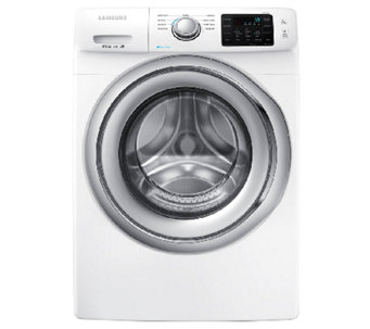 Samsung 4.2 Cu Ft Front-Load Washer w/ Steam Technology -Whit - E277347