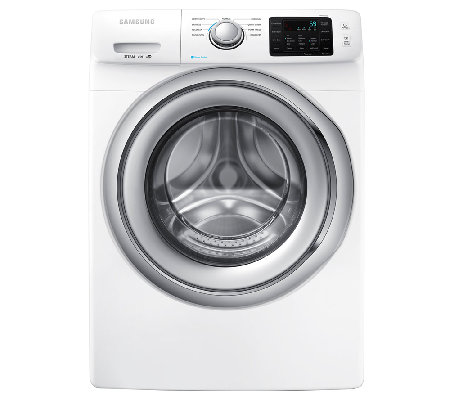 Samsung 4.2 Cu Ft Front-Load Washer w/ Steam Technology -Whit