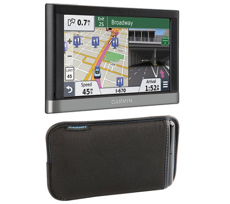Garmin Nuvi 2597LMT & Iessential Universal SoftCarry Case