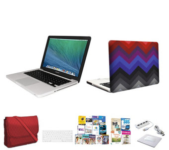 Macbook Pro 13.3, Core i5 with Clip Case 3in1 Bag & Software - E230348