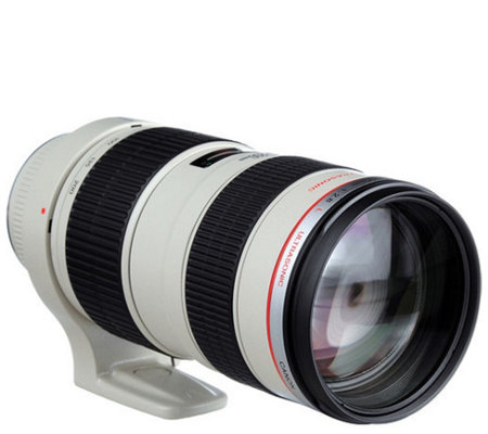 Canon EF 70-200mm f/2.8L USM with Case and Lens Hood