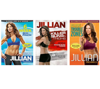 Jillian Michaels - 3 Disc Fitness Set - E263148