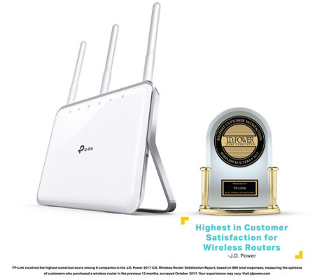 TP-Link Archer C8 Wireless Dual-Band Gigabit Router
