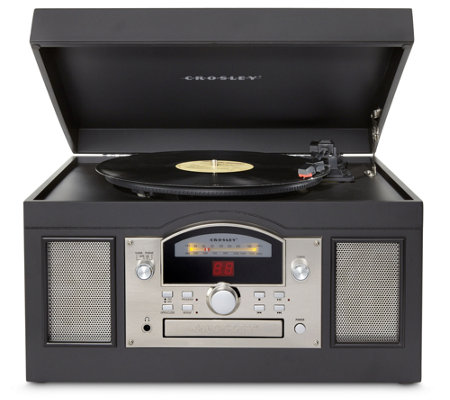 Crosley Archiver 3-Speed USB-Enabled Entertainment Center