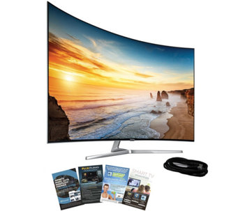 "Samsung 65"" LED 4K SUHD Curved Smart TV with HDMI & App Pack - E288748"