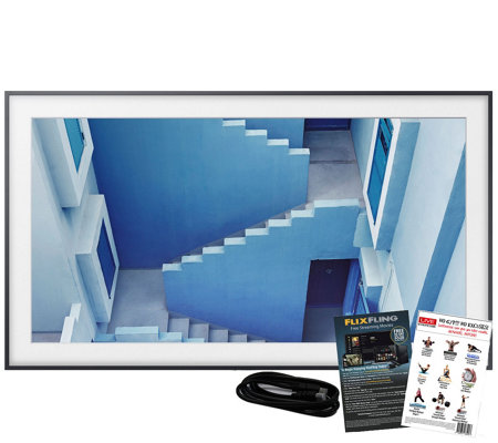"Samsung The Frame 65"" Class Smart 4K Ultra HDTV& HDMI Cable"