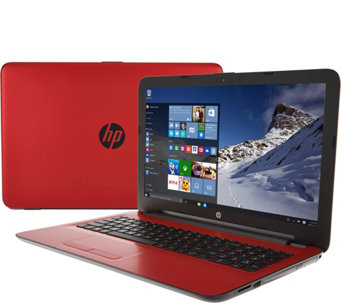 HP 15 Laptop AMD A12 Quad, 12GB RAM, 2TB, w/ McAfee/Tech &Extend Battery - E229949