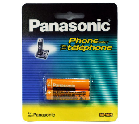 Panasonic NiMH Rechargeable Batteries for Cordless Phones