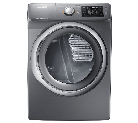 Samsung 7.5 Cu. Ft. Front Load Electric Dryer -Platinum