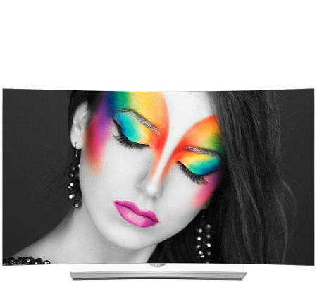 "LG 65"" Class 4K UHD Smart Curved OLED TV with webOS 2.0 & 3D"