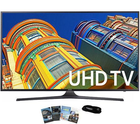 "Samsung 70"" Smart LED Ultra HDTV with App Packand HDMI Cable"
