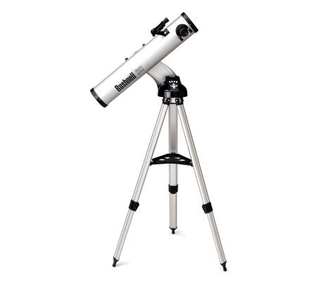 "Bushnell 788846 675 x 4.5"" Motorized GoTo Refleor Telescope"