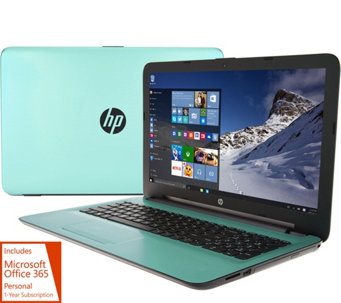 HP 15 Laptop AMD A12 Quad, 12GB RAM, 2TB, w/ Tech, Extend Battery &Office - E229950
