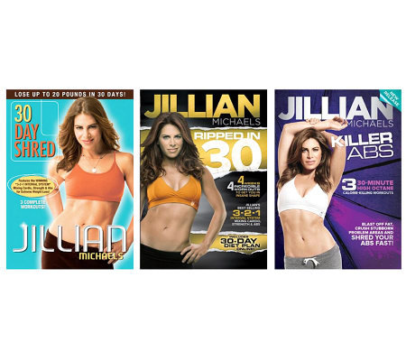 Jillian Michaels - 3 Disc Fitness Bundle