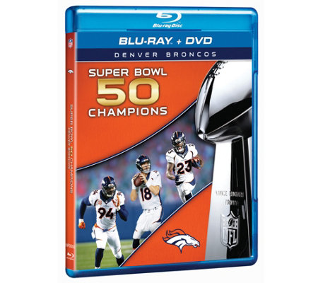 Denver Broncos Super Bowl 50 Champions Blu-Ray